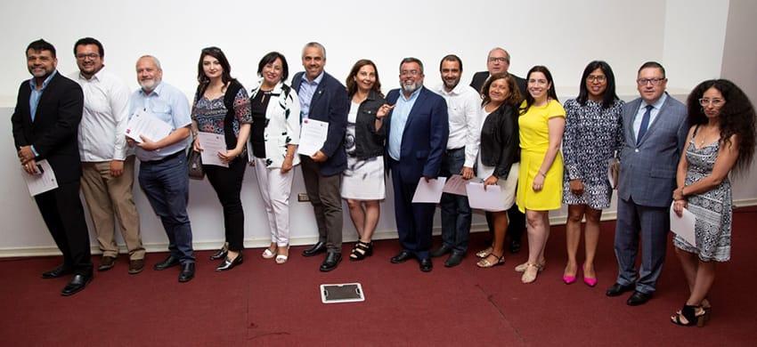 Académicos UCN reciben certificación como formadores de mentores