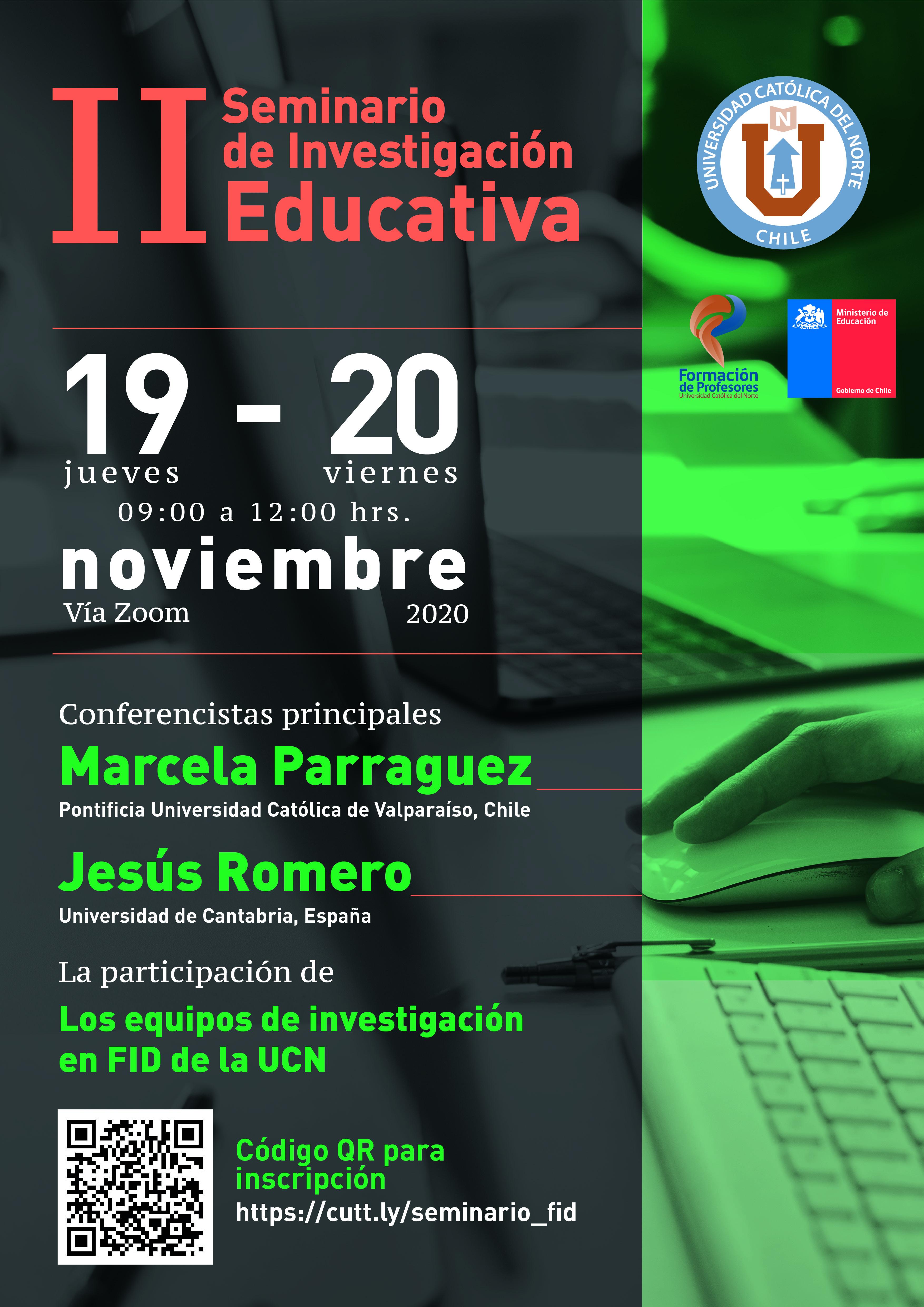 FID UCN invita a participar en II Seminario en Investigación en la UCN