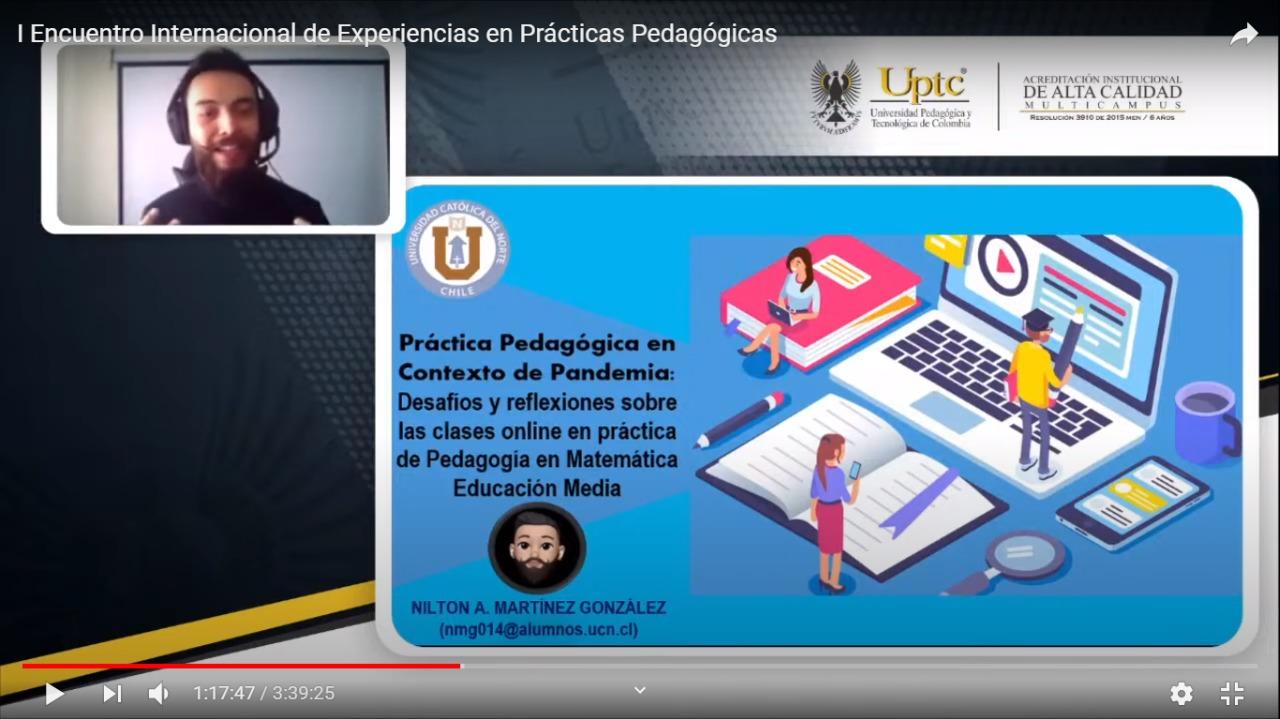 Profesores y estudiantes UCN participaron en encuentro internacional sobre formación docente